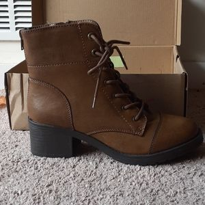 NWT Sugar - Lace Up Combat Boots